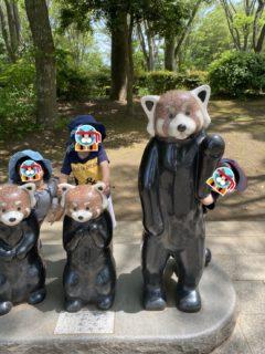 千葉市動物公園にて
